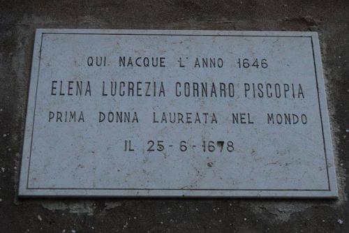 lapide-elena-lucrezia-cornaro-prima-donna-italiana-laureata-nel-mondo